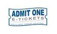 Admit One - The Ticket Market Maker Promo Codes