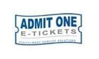 Admit One - The Ticket Market Maker Promo Codes