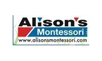 Alison's Montessori promo codes