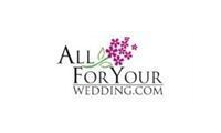 All For Your Wedding promo codes