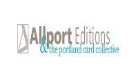Allport Editions & the portland card collectiv promo codes