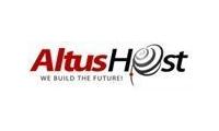 AltusHost promo codes