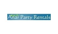 Anar Party Rentals Promo Codes