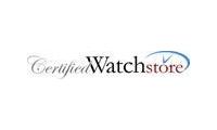 CertifiedWatchStore promo codes