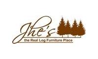 JHE's Log Furniture Place promo codes