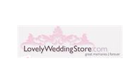 Lovely wedding store promo codes