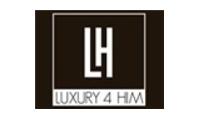 Luxury4him promo codes