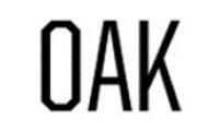 OAK Promo Codes