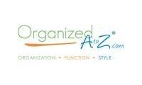 Organized A to Z promo codes