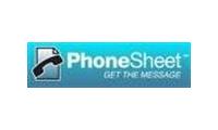 Phonesheet promo codes