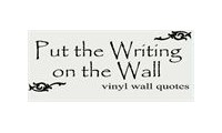 Put The Writing On The Wall Promo Codes