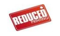 Reduced Printing promo codes