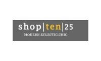 Shop Ten 25 promo codes