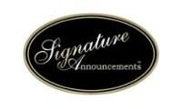 Signature promo codes