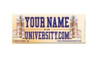 Yournameuniversity promo codes
